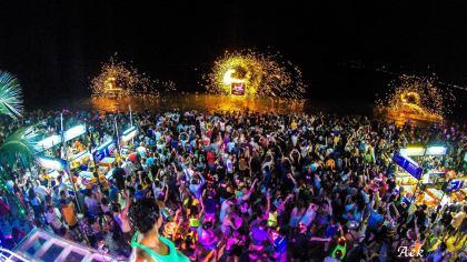 New year's celebrations Koh Samui