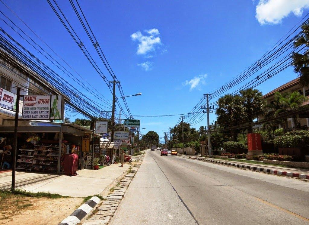 Route 4169 (Ring Road) Koh Samui