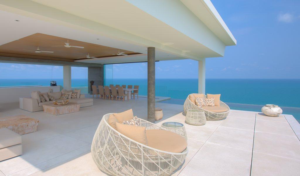 Samujana Villa 30 fully furnished pool deck