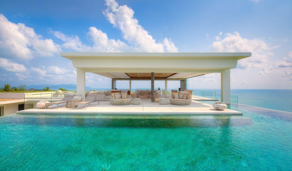 Samujana Villa 30 roof-top Sala and pool