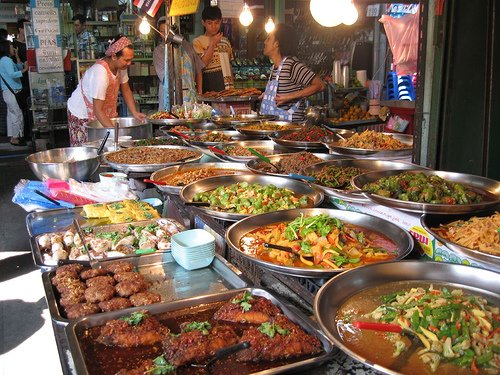 Night market Chaweng street food Koh Samui