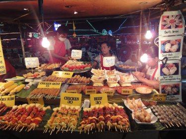 Lamai market street food Koh Samui