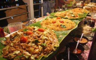 Lakeside in Chawaeng street food Koh Samui