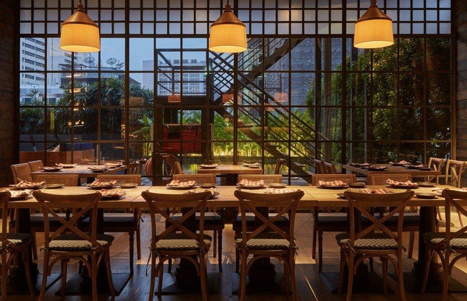 Charcoal restaurant - Bangkok