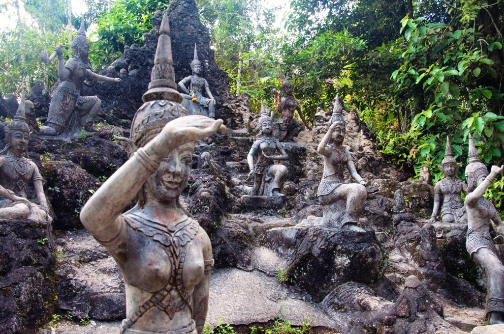 Secret Buddha Garden, Koh Samui