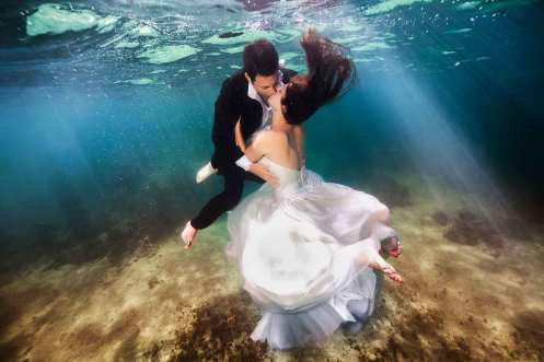 Underwater Wedding Festival, Trang