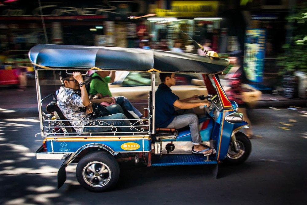 Taxi Thai language
