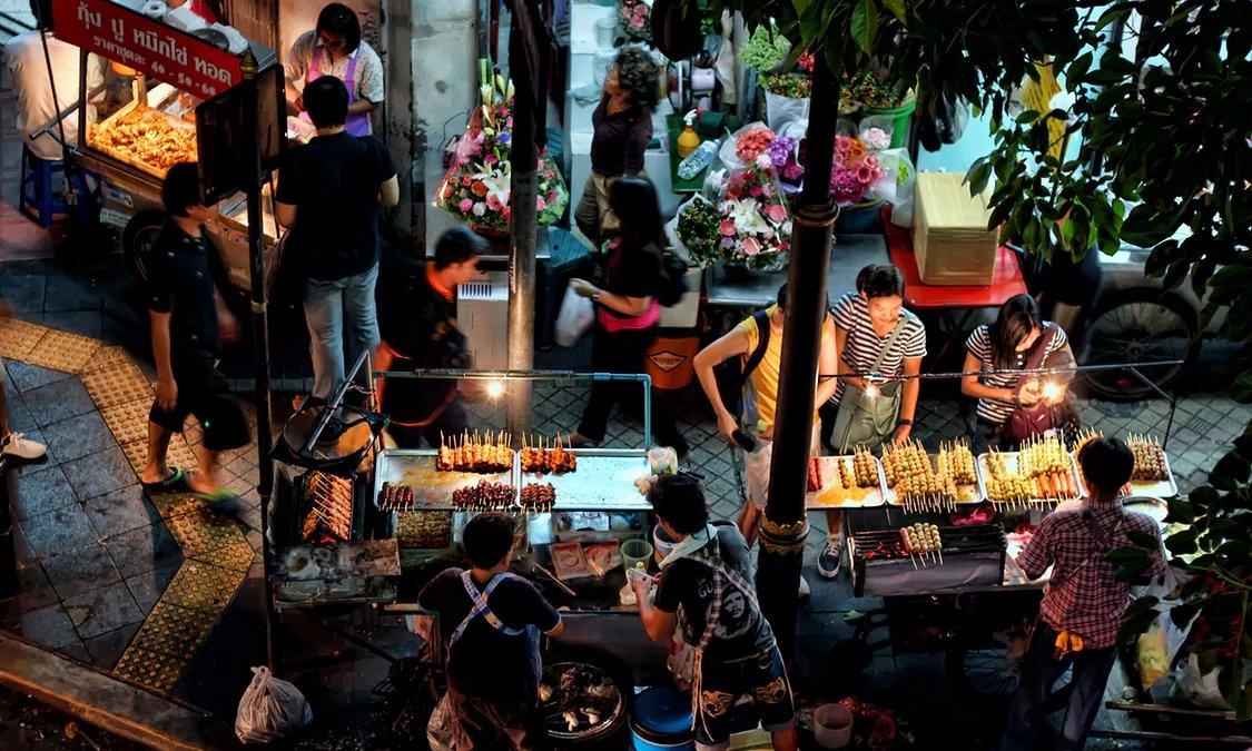 Bangkok street food Thailand