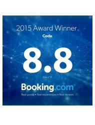 Code Booking.com Award Winner 2015