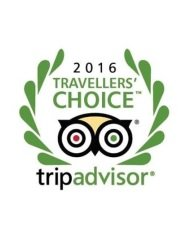 Trip Advisor traveller's choice award 2016