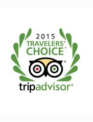Trip Advisor traveller's choice award 2015