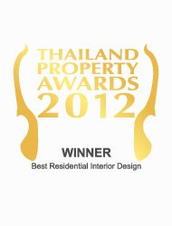 Thailand property awards 2012 best residential interior design Thailand Code – Winner