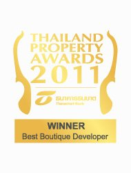 Thailand Property Awards 2011 Best Boutique Developer Thailand KALARA – Winner
