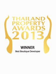 Thailand property awards 2013 best boutique developer Thailand Kalara – Winner