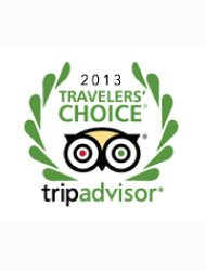 The 'Trip Advisor Traveller's Choice Award 2013