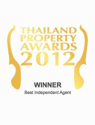 Thailand property awards 2012 best independent agent Thailand Kalara – Winner