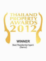Thailand property awards 2012 best residential agent Koh Samui Kalara – Winner