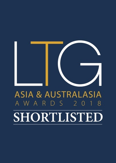 Luxury Travel Guide Asia & Australasia Awards 2018 CODE