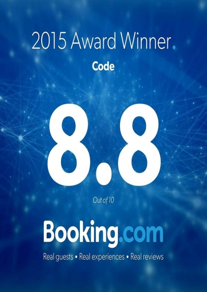 Booking Dot Com Guests Review Awards 2015 LANNA