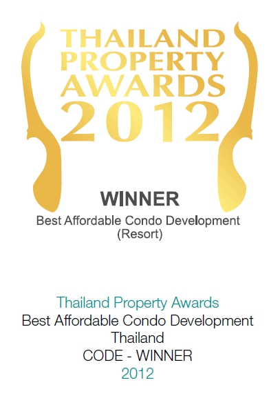 2012 Thailand Property Awards: Best Afforable Condominium Development Thailand CODE