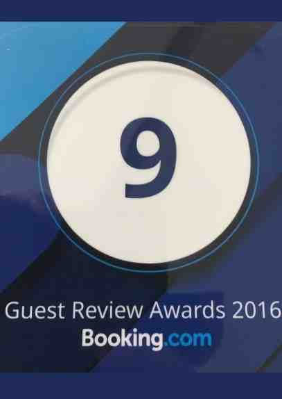 Booking Dot Com Guests Review Awards 9/10 2016 LANNA