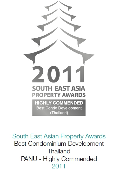 2011 South East Asian Property Awards: Best Condominium Thailand PANU